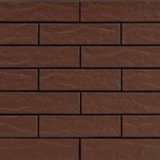 Плитка клинкерная фасадная Brown 19690